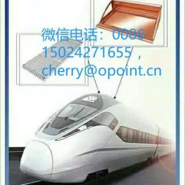 定制高铁铝配件CNC加工铝配件