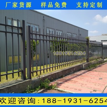 佛山围墙锌钢栏杆铁艺厂 小区外墙铁
